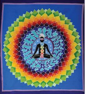 Bouddha centre couleurs