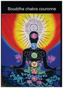 bouddha chakra couronne