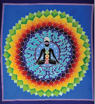 Bouddha coeur mandala