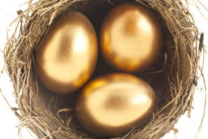 three golden eggs
