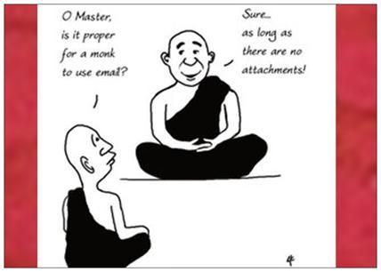 blague zen attitude
